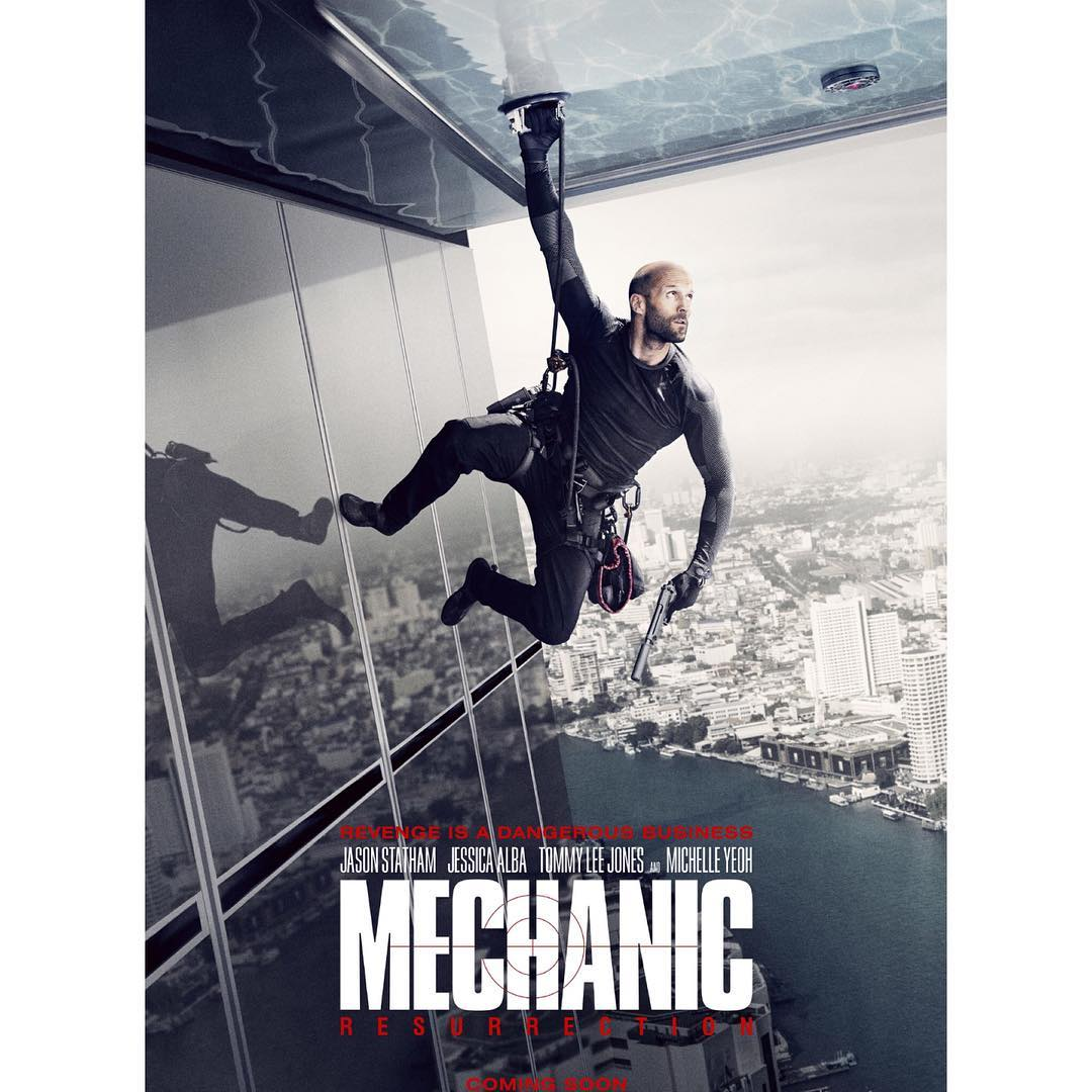Mechanic Jason Statham تقييم فيلم