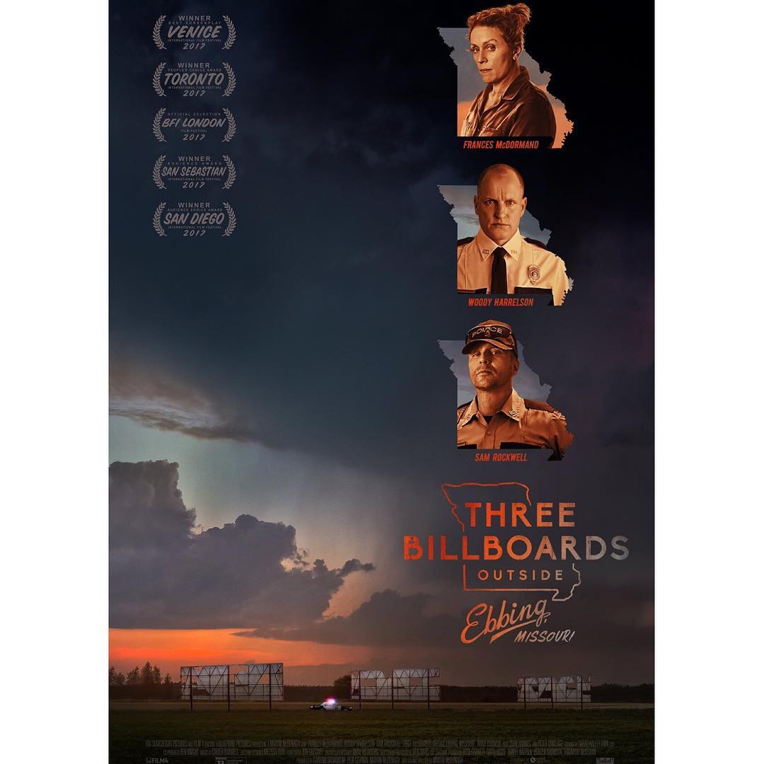 three billboards outside ebbing missouri تقييم فيلم
